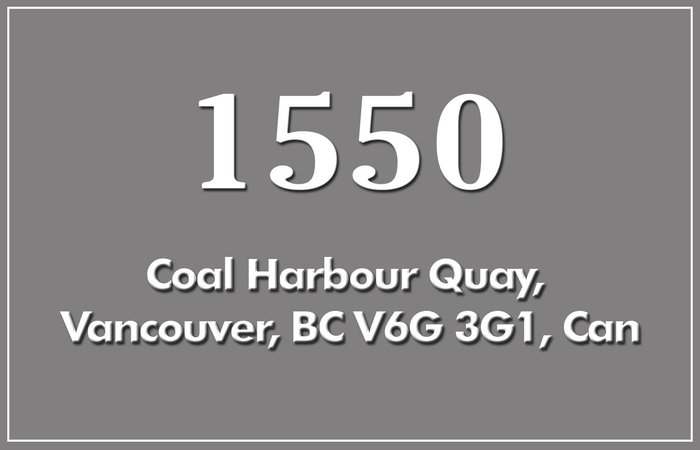 1550 Coal Harbour 1550 COAL HARBOUR V6G 3G1