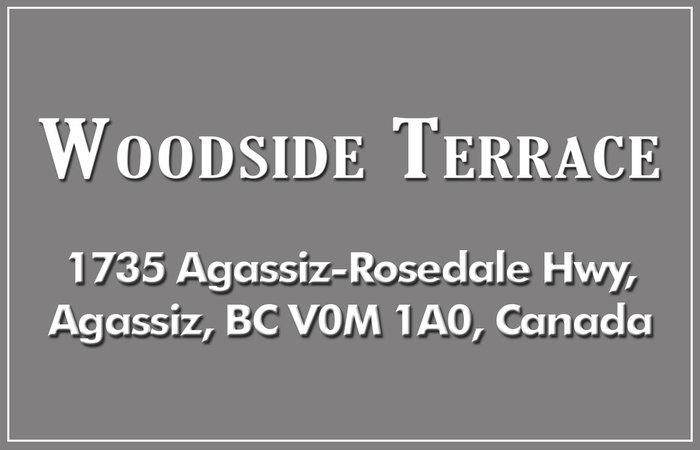 Woodside Terrace 1735 Agassiz-Rosedale V0M 1A0