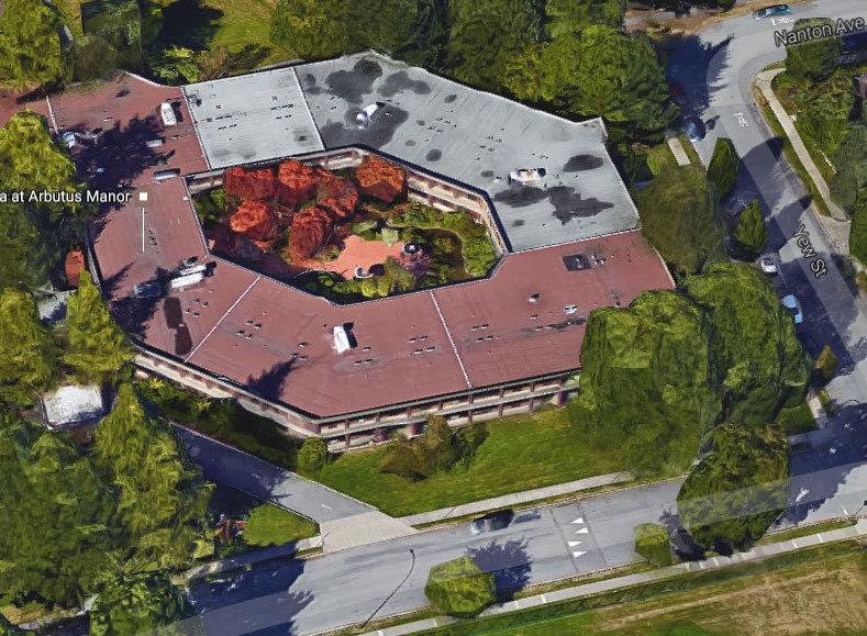 Arbutus Manor Aerial!