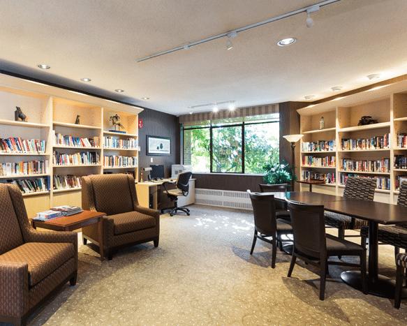 Arbutus Manor Library!