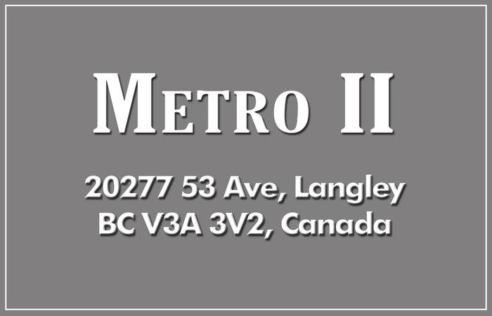 Metro II 20277 53RD V3A 3V2