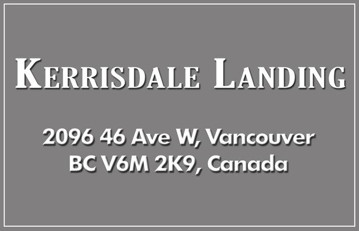 Kerrisdale Landing 2096 46TH V6M 2K9
