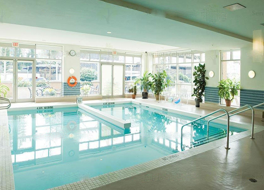 Amica West Vancouver Swimming Pool!