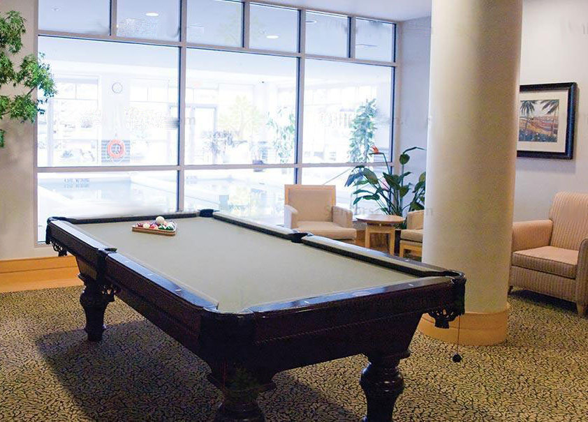 Amica West Vancouver Pool Table!