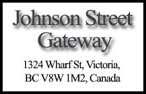 Johnson Street Gateway 1324 Wharf V8W 1M2
