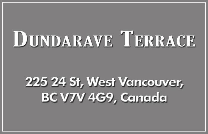 Dundarave Terrace 225 24TH V7V 4G9