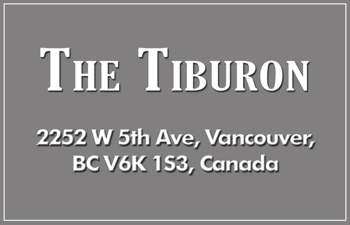 The Tiburon 2252 5TH V6K 1S3