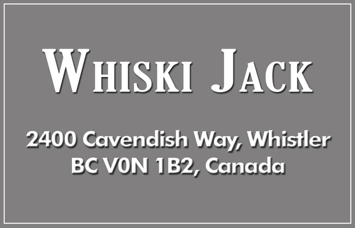 Whiski Jack 2400 CAVENDISH V0N 1B2