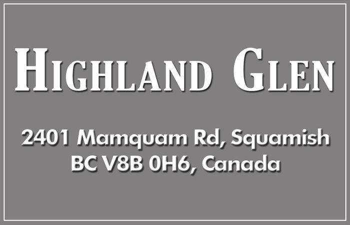 Highland Glen 2401 MAMQUAM V8B 0H6