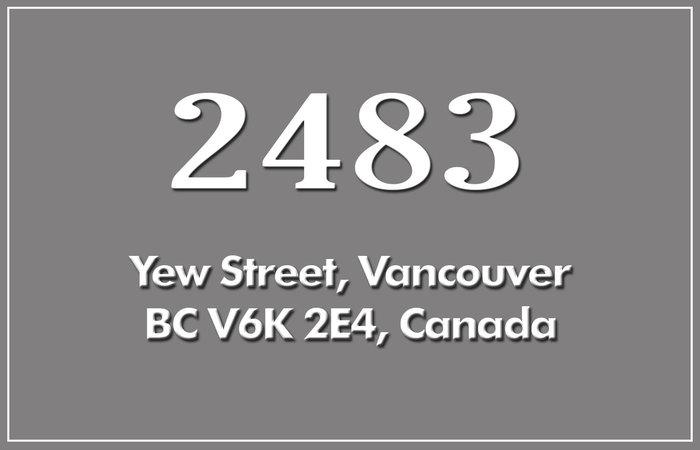 2483 Yew 2483 YEW V6K