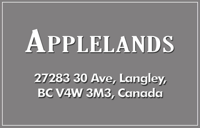 Applelands 27283 30TH V4W 3J6