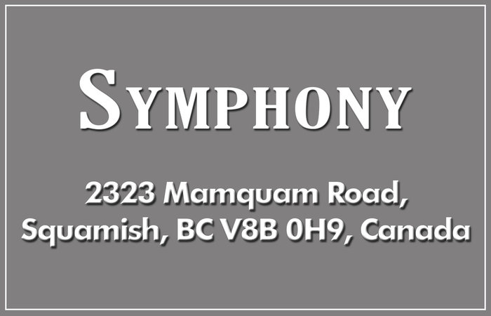 Symphony 2323 MAMQUAM V8B 0H9