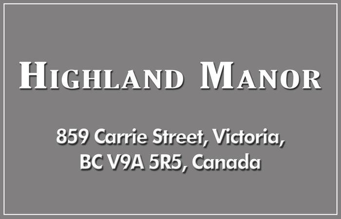 Highland Manor 859 Carrie V9A 5R5