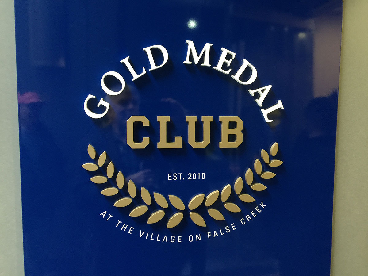 Gold Medal Club!