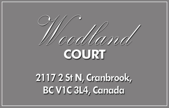 Woodland Court 2117 2ND V1C 3L4