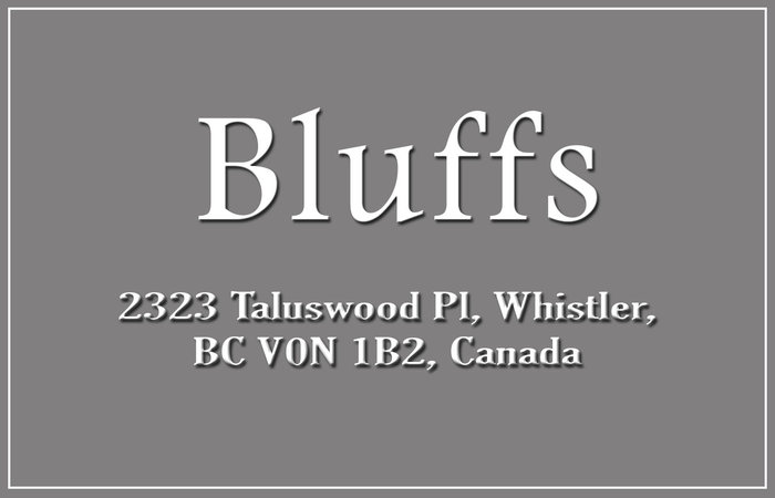 The Bluffs 2323 TALUSWOOD V0N 1B2