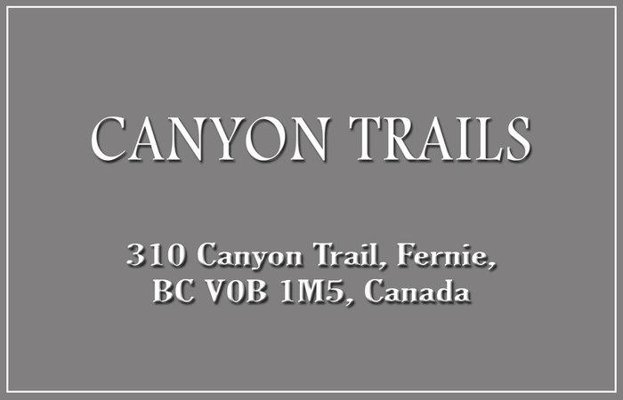 Canyon Trails 310 CANYON V0B 1M5