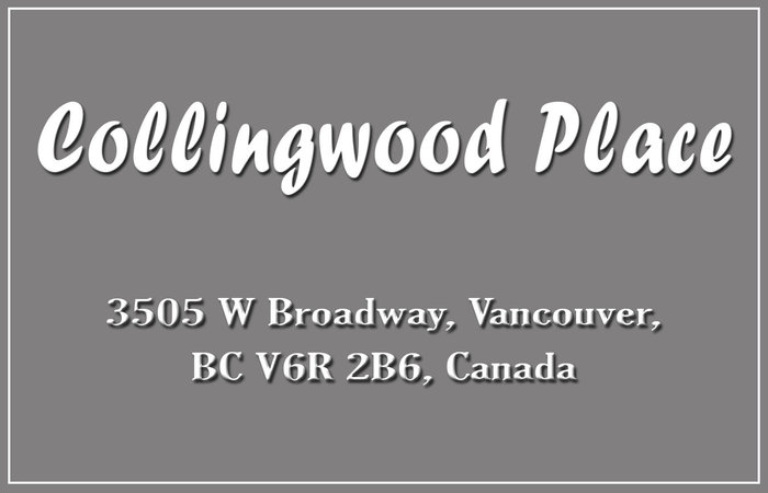Collingwood Place 3505 BROADWAY V6R 2B5