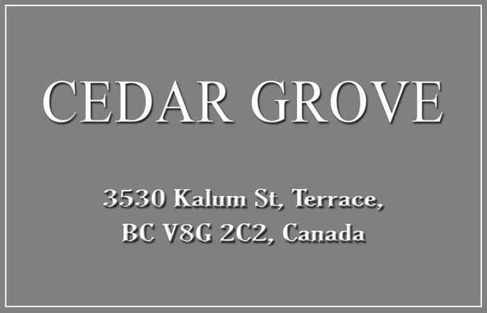 Cedar Grove 3530 KALUM V8G 2P2