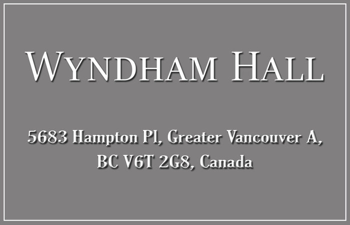 Wyndham Hall 5683 HAMPTON V6T 2H3
