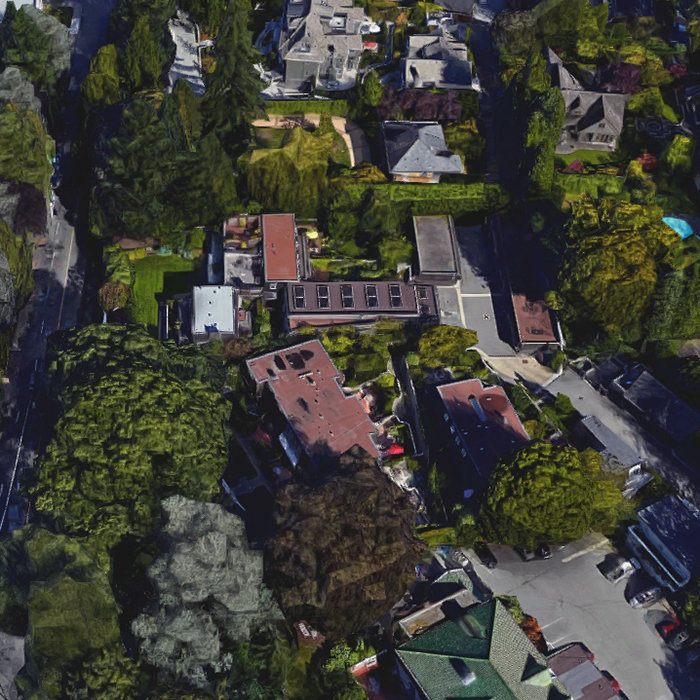 1449 McRae Ave, Vancouver, BC V6H 1V1, Canada Birds Eye View!