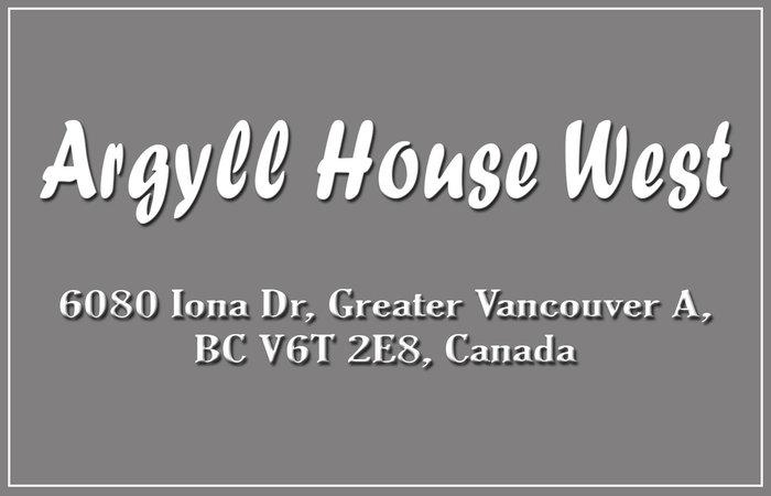 Argyll House West 6018 IONA V6T 2L1