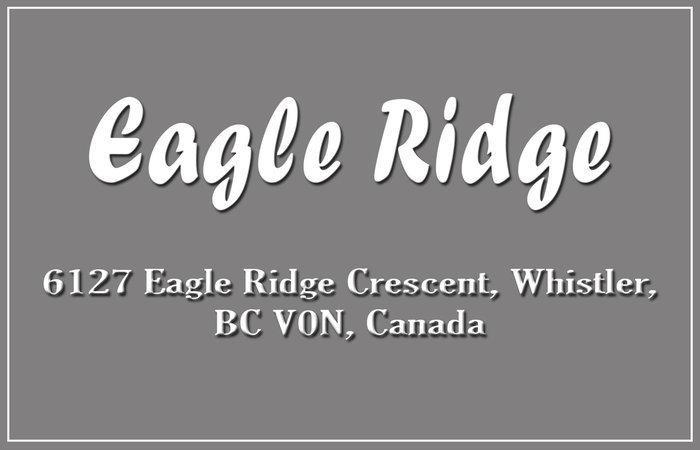 Eagle Ridge 6127 EAGLE RIDGE V0N 1B6