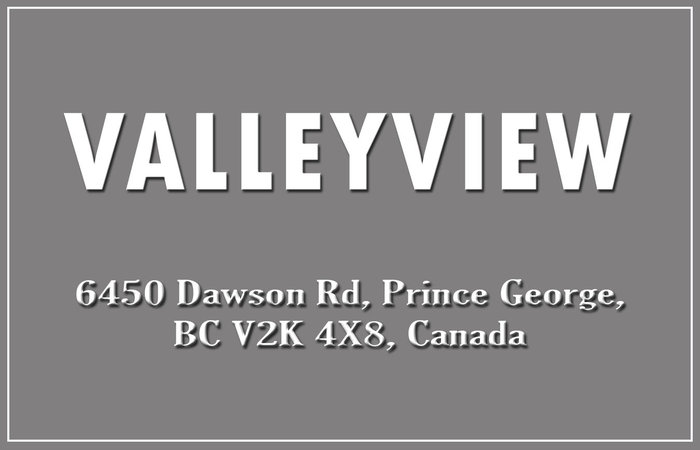 Valleyview 6450 DAWSON V2K 5Y4