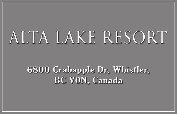Alta Lake Resort 6800 CRABAPPLE V0N 1B6