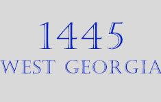 1445 West Georgia 1445 Gerogia V6G 2T3