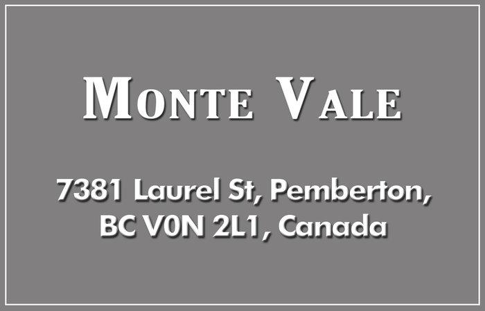 Monte Vale 7381 LAUREL V0N 2L1