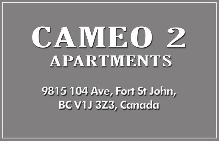 Cameo 2 9815 104TH V1J 2K4