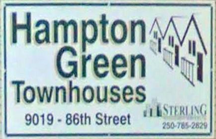 Hampton 9019 86TH V1J 6X4