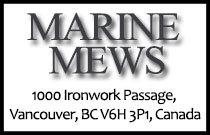 Marine Mews 1000 Ironwork Passage V6H 3P1