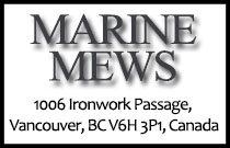 Marine Mews 1006 Ironwork Passage V6H 3P1