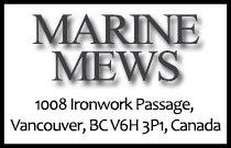 Marine Mews 1008 Ironwork Passage V6H 3P1