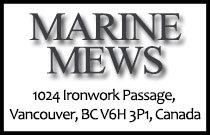 Marine Mews 1024 Ironwork Passage V6H 3P1