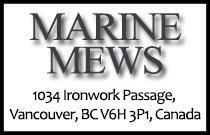 Marine Mews 1034 Ironwork Passage V6H 3P1