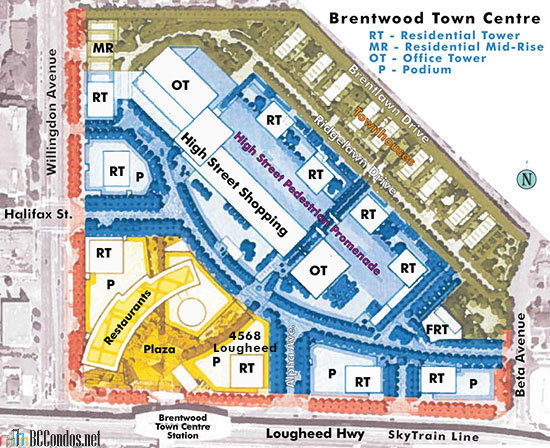 Brentwood Town Centre