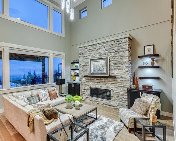 1400 Strawline Hill St., Coquitlam, BC V3E 3H1, Canada Living Area!