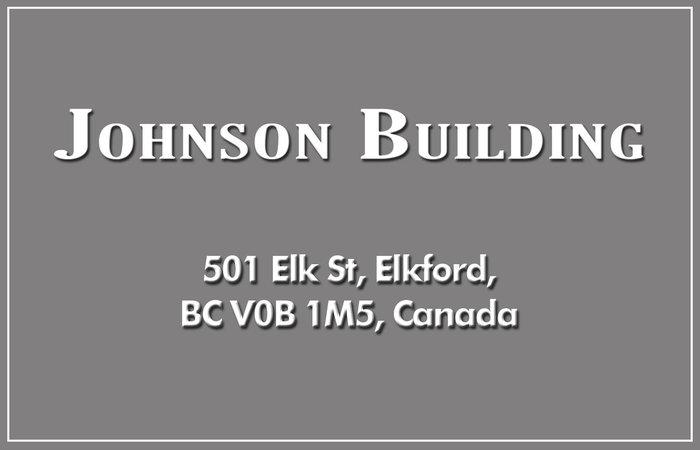 Johnson Building 501 ELK V0B 1H0