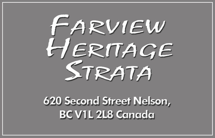 Farview Heritage Strata 620 SECOND V0V 0V0