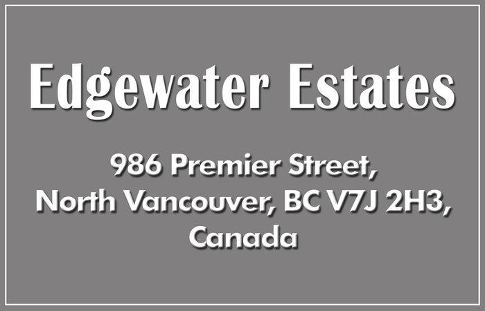 Edgewater Estates 986 PREMIER V7J 2H3