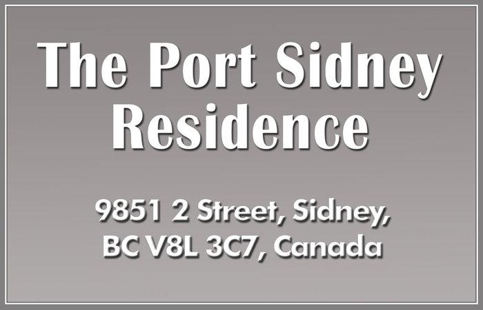 The Port Sidney Residence 9851 Second V8L 3C7