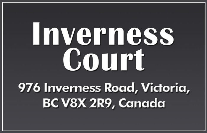 Inverness Court 976 Inverness V8X 2R9