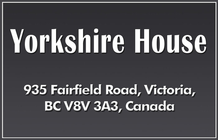 Yorkshire House 935 Fairfield V8V 3A3