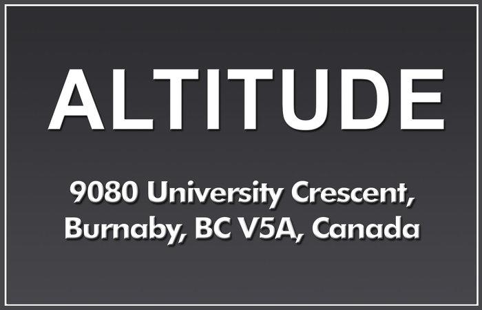 Altitude 9080 UNIVERSITY V5A 4X9
