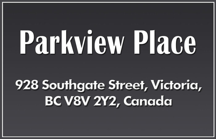Parkview Place 928 Southgate V8V 2Y2