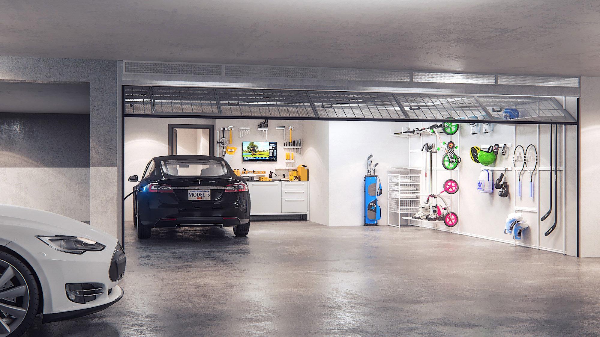Yukon Private Parking Garage!