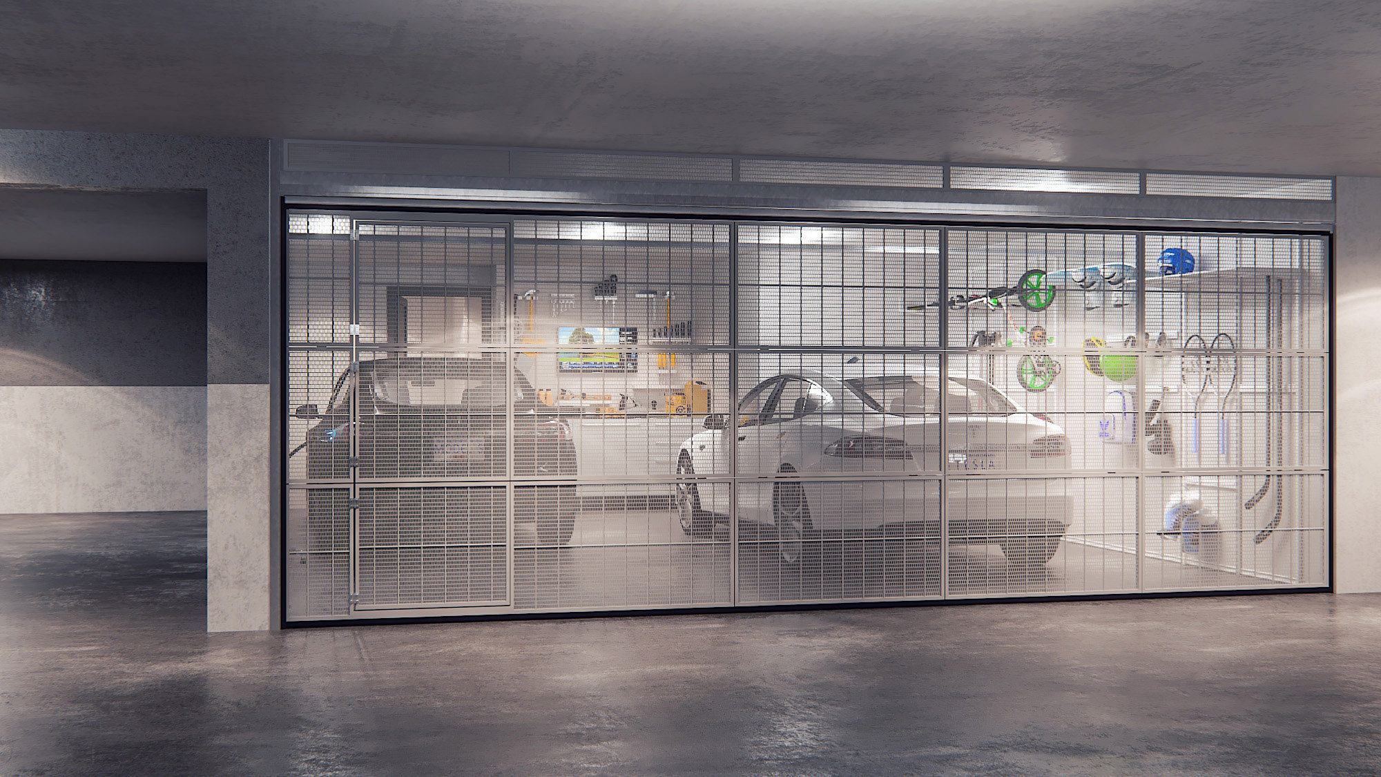 Yukon Private Garage Gate!